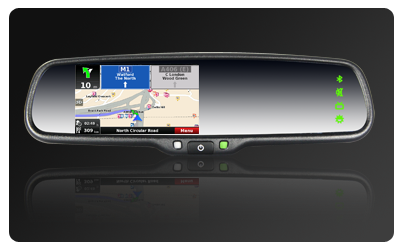 GPS MIRROR OE STYLE WITH BT AND TOUCH SCREEN