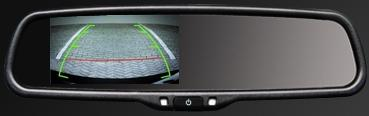Rear view mirror OEM Replacement with reverse camera input 1 installation toronto north york gta
