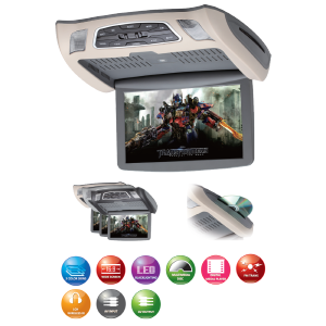 SAVV LOH-U1010DVD Flip down monitor