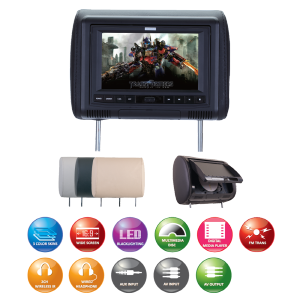 Savv LM-78D headrest DVD system