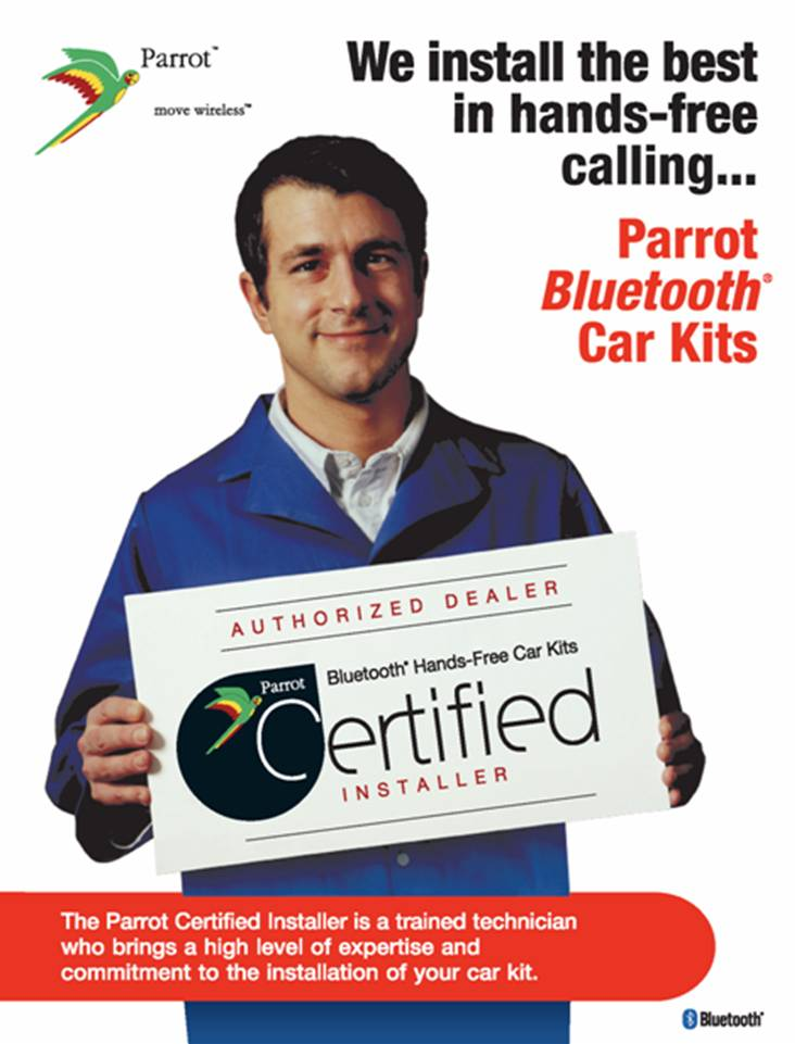 Hands-Free Bluetooth Car Installation Servicing Toronto and the GTA