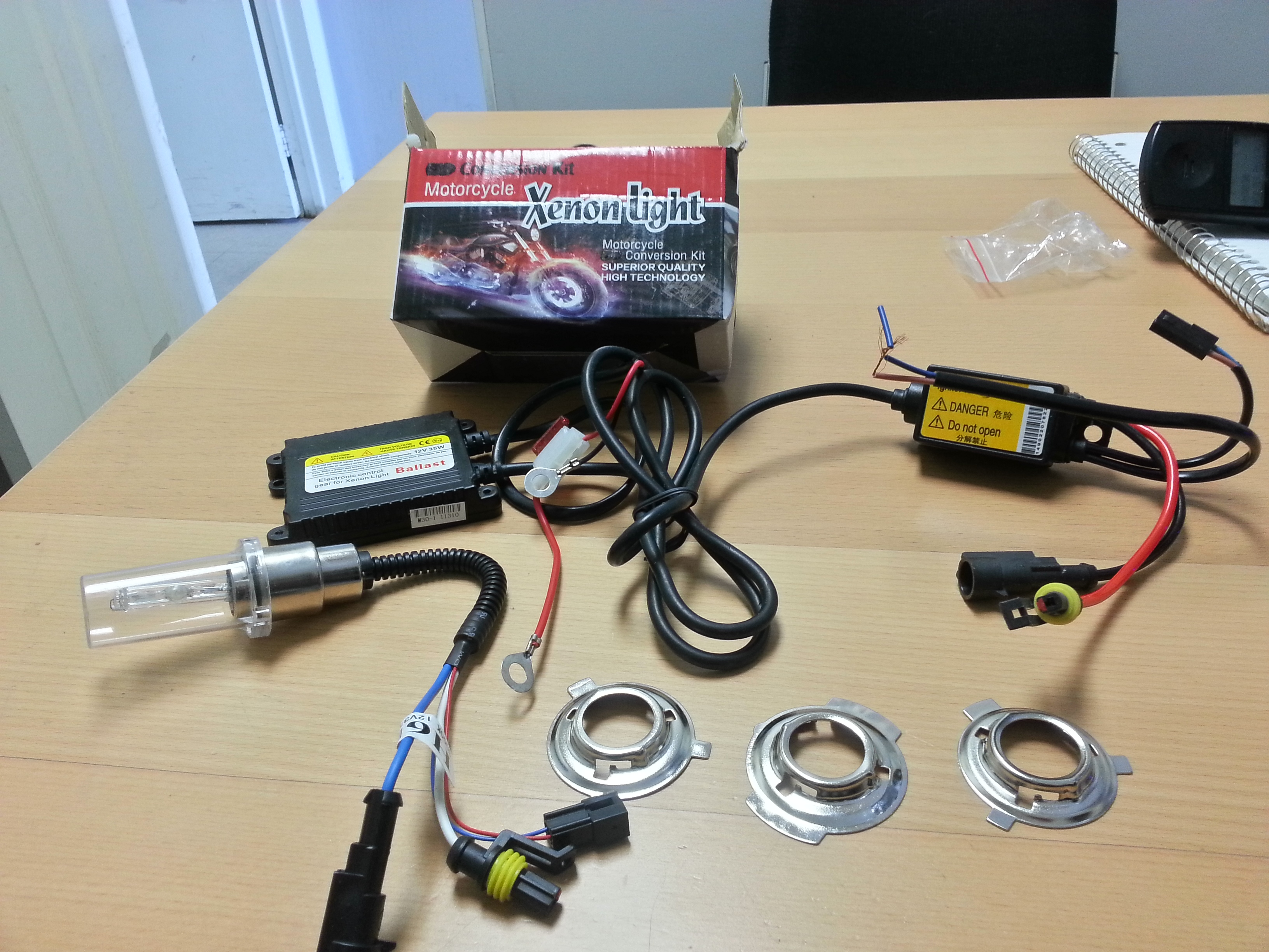 BI-XENON HID KIT FOR MOTORCYCLE AND CARS