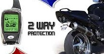 MOTORCYCLE BIKE 2 WAY LCD REMOTE ALARM PROTECTION