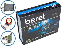 beret 5000 2way motorcycle alarm