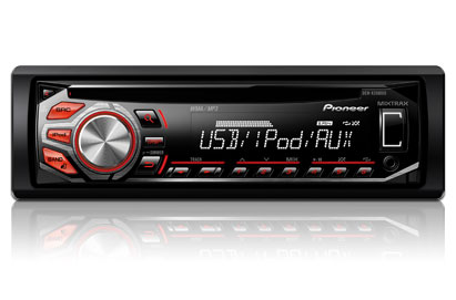 PIONEER DEH-X2600UI IPOD/IPHON CONTROL SYSTEM, USB, AUX