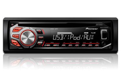 PIONEER DEH-X2600UI IPOD/IPHON CONTROL SYSTEM, USB, AUX