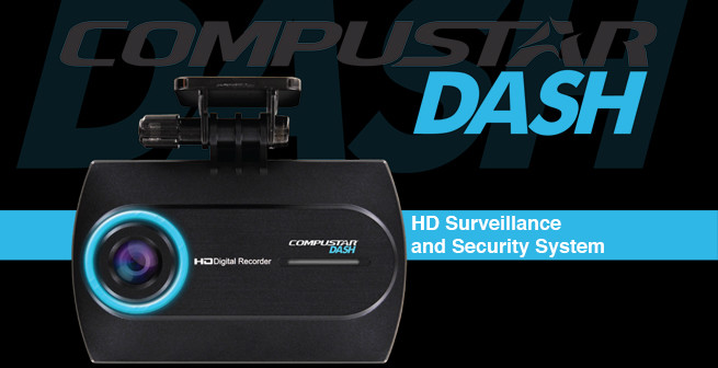 Compustar CD-3200 1080P HD Dash Cam dashboard camera DVR system