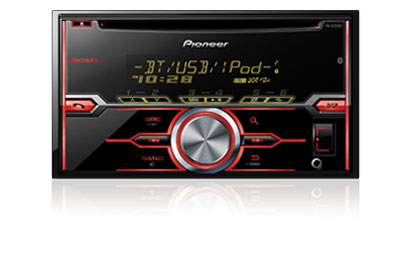 Pioneer FH-X721BT 2 Din (Double Din) Bluetooth, Car Hands Free calling, Siri eyes free, wireless audio streaming