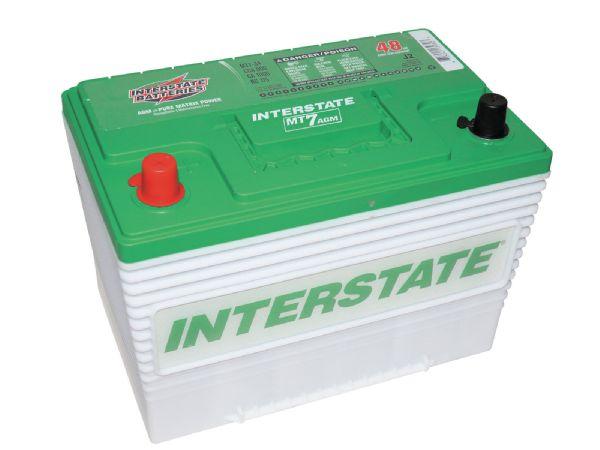 Interstate Mt  Car Battery